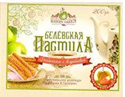 Яблочная пастила с клубникой 175гр