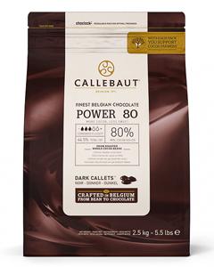 Шоколад темный 80,1%, пакет 2,5кг