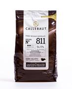 Шоколад темный 54,5%, пакет 2,5 кг