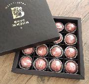 Набор из 16ти трюфелей в коробке с логотипом