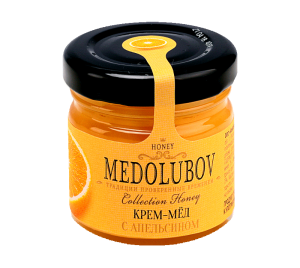Крем-мед с апельсином 40гр