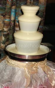 Чехол Невеста на шоколадный фонтан