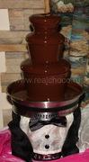 Чехол Жених на шоколадный фонтан