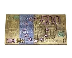 Шоколадная купюра 500 евро