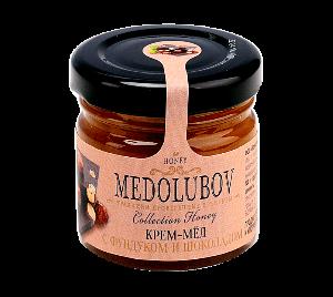 Крем-мед с шоколадом и фундуком 40гр