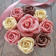 Букет шоколадных роз малый