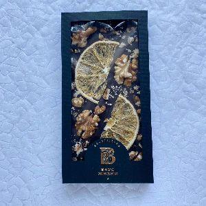 Плитка ПРЕМИУМ из горького шоколада 115гр
