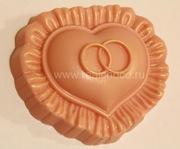 Сердце с кольцами