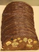 Шоколадное полено порция 110гр