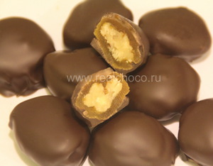 Курага в темном шоколаде 100гр