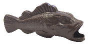 Рыба объемная большая