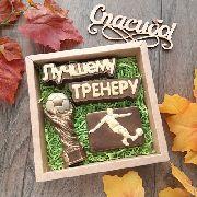 """Набор """"Футбольному тренеру с кубком"""""""