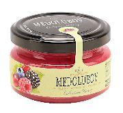 Крем-мед с лесными ягодами 100гр