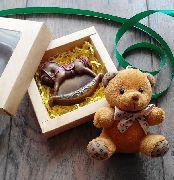 Лошадка-качалка в коробочке