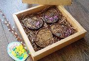 Набор пасхальных медальонов