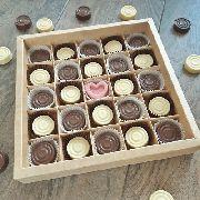 Набор шоколадных шашек