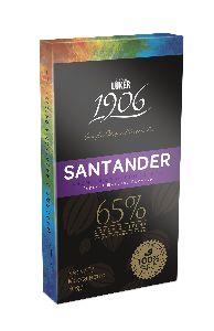 Шоколадная плитка Santander 65%