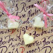 Свадебная бонбоньерка - сердечко