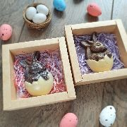 Пасхальный кролик в коробочке