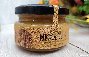Крем-мед с грецкими орехами 100гр