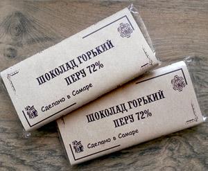 Шоколадная плитка Peru 72% 60гр