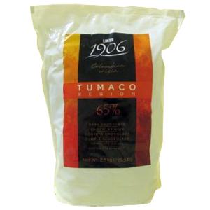 Горький шоколад Tumaco 85% 2,5кг